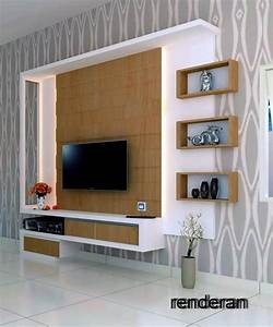 49 LcdTv Unit Cabinet Wall Design Ideas For Living
