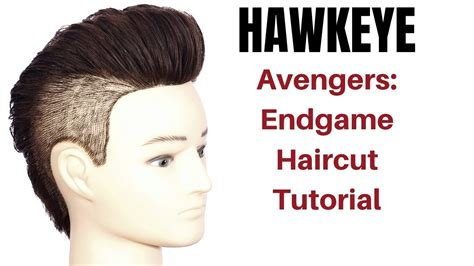 Avengers Endgame Hawkeye Haircut Tutorial Thesalonguy