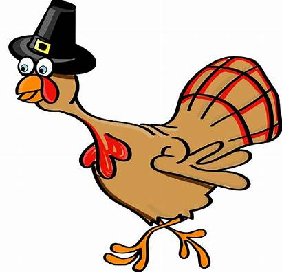 Turkey Thanksgiving Funny Clipart Clip Cliparts