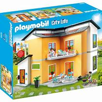 Images for playmobil city life maison moderne pas cher www ...