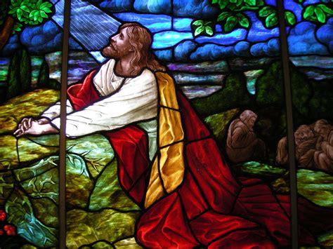 jesus praying in the garden garden of gethsemane pax christi usa