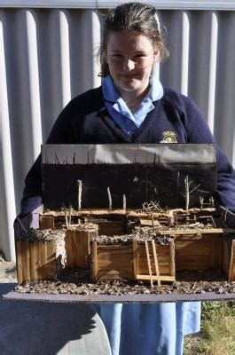 ww trench model diorama project idea  easy project
