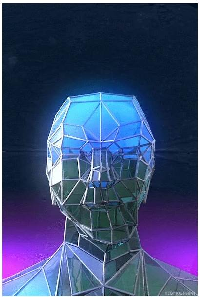 Sci Fi Kidmograph C4d Gifs Vaporwave Reflection