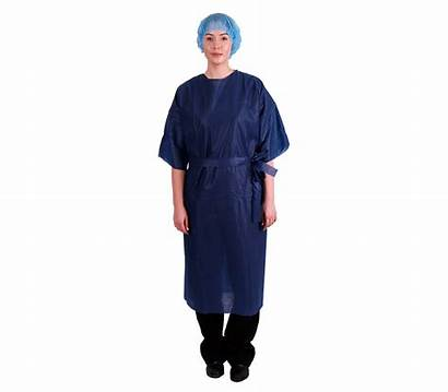Gown Patient Short Sleeve Medical Multigate Surgical