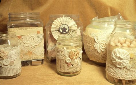 crafts to make with glass jars make the best of things pretty craft room jars