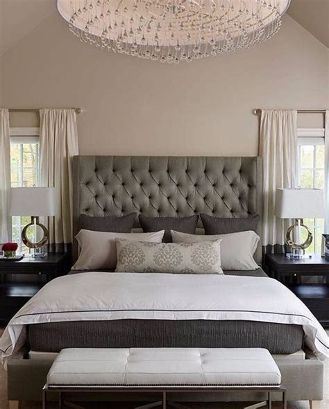 Bedroom Ideas With Headboard sublime tufted headboards for master bedroom d 233 cor