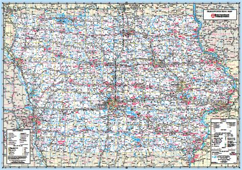 image gallery iowa road map