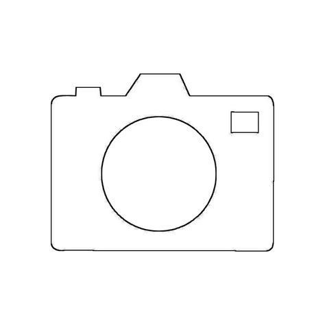 Kleurplaat Fotocamera by Photo 5 Objects Printable Coloring Pages