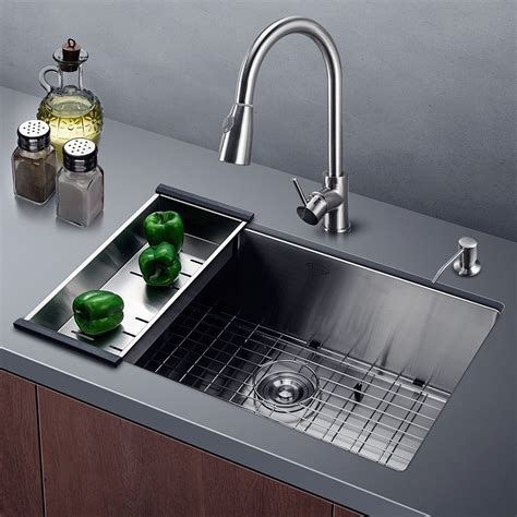 undermount kitchen sink harrahs 30 inch stainless steel kitchen sink 6526