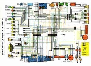 1974 Honda Cb750 Wiring Diagram 41252 Enotecaombrerosse It