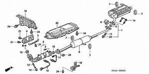 Ga 0623  Honda Cr V Exhaust System Diagram Free Diagram