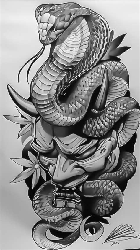 Pin by Toby chapman on Hannya Masks | Japanese snake