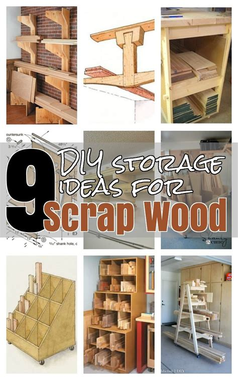diy ideas  wood storage lumber storage diy storage
