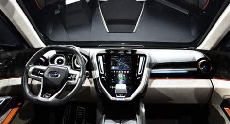 subaru suv interior 2018 subaru ascent suv models price and specs auto redesign