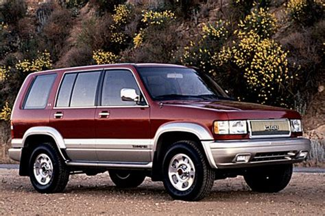 how things work cars 1995 isuzu trooper seat position control cars we d love to see resurrected the cargurus blog