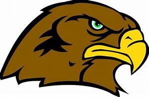 SignSpecialist.com – Mascots Decals - Hawk head mascot ...