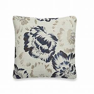 charm 20quot x 20quot throw pillow in blue natural bed bath With bed bath and beyond 20 x 20 pillow insert