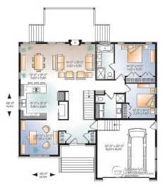 open floor house plans with loft w3280 v1 modern home design master bath open