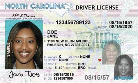 North Carolina New Driver's License Application And