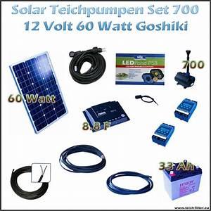 Solar Teichpumpe Mit Akku Und Filter : 60w 12v solar teichpumpe mit akku und led 700 goshiki ~ Eleganceandgraceweddings.com Haus und Dekorationen