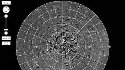 Moon Map Interactive Craters Lander Own Earth