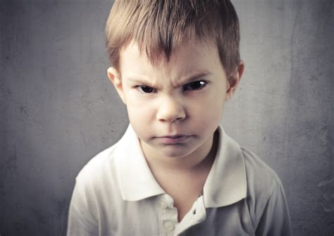 angry boy - The British Association of Play Therapists