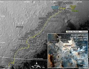 Curiosity Spied From Orbit by Mountain Drilling Base Where ...