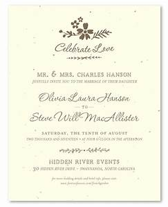 garden wedding invitations on seeded paper french garden With example of wedding invitation in french