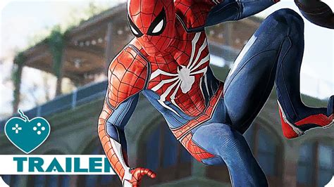 Spider-man First Look Trailer (2018) Ps4 Game