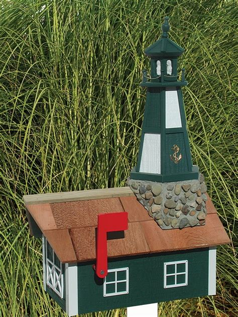 lighthouse mailbox plans woodworking projects plans