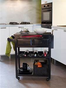 Meuble Cuisine Desserte : relooker un meuble avec de la peinture ou du vernis atelier chic et cuisine ~ Teatrodelosmanantiales.com Idées de Décoration