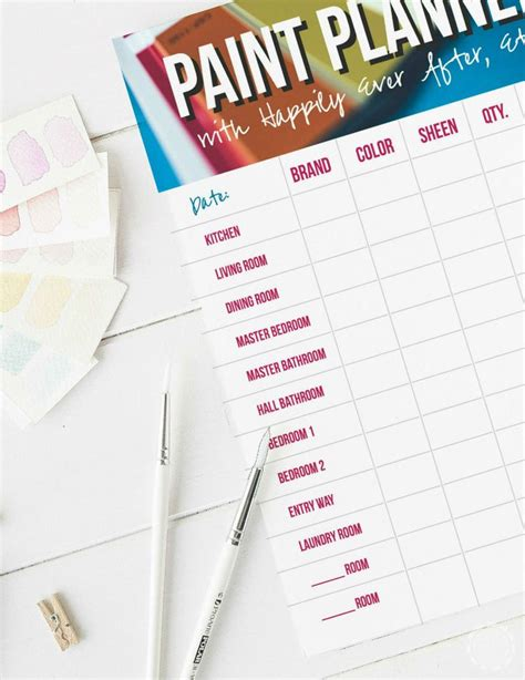 how to keep track of the paint colors in your home do it yourself today paint colors