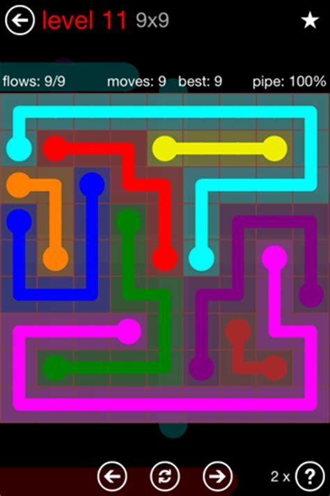 Flow Free 9x9 Level 14 Shefalitayal
