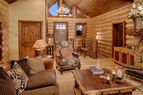 21 Rustic Log Cabin Interior Design Ideas