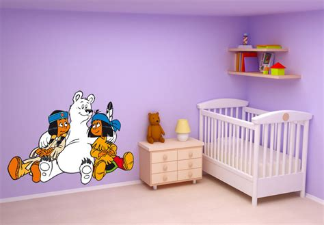 Wandtattoo Kinderzimmer Yakari by Paint Clicker Shop Kinderzimmer Wandtatoo Yakari Mit