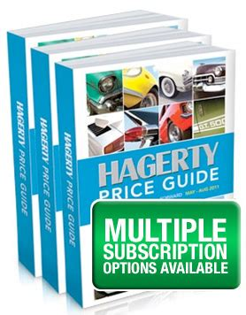 classic car  book  car price guide hagerty