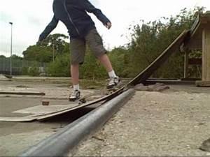 DIY Skate-Ramp at Shots - YouTube