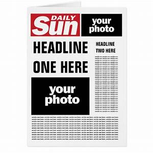 pin fake newspaper templates results picemony on pinterest With fake newspaper template
