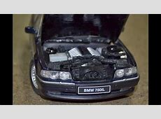 BMW 750iL E38 118 OTTO with Engine V12 M73B54 on scale