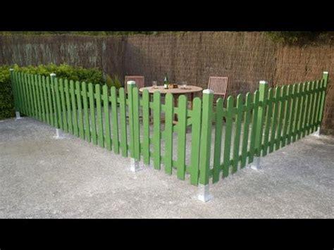 como construir  cercado de madera  el jardin