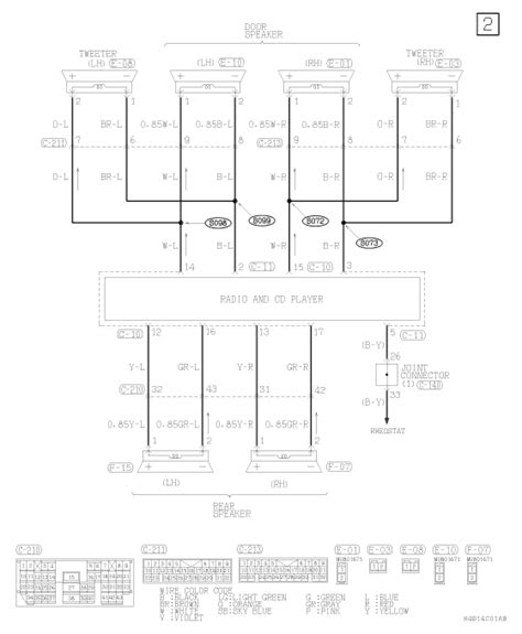 2006 Chrysler Sebring Wiring Diagram by I Am Looking For A Wiring Diagram To The Stereo In My 2004