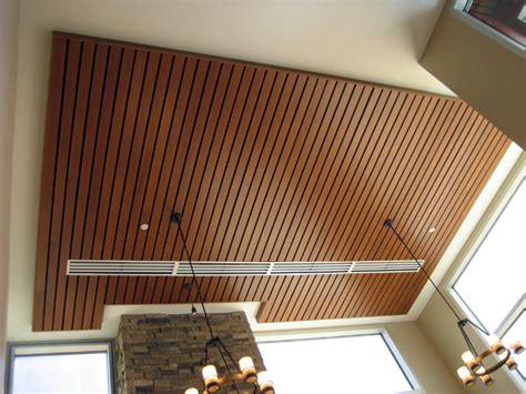 wood ceilings heartland acoustics interiors