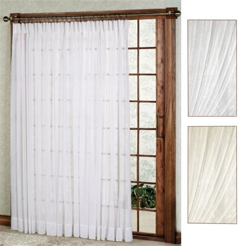 one way draw patio curtain