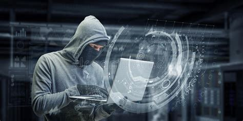 cyber internet computer bullying man stock image image