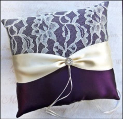 here are my diy ring bearer pillows show me yours