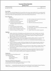 insurance adjuster resume resume ideas With great resume templates