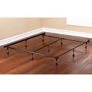 adjustable metal bed frame brown walmart com