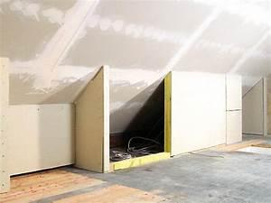 Trockenbau Tür Einbauen : so bauen und verkleiden sie eine drempelwand bauhaus ~ Frokenaadalensverden.com Haus und Dekorationen