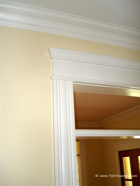 windows door  crown mouldings trim team