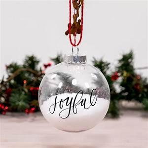 Make, A, Homemade, Glass, Christmas, Tree, Ornament